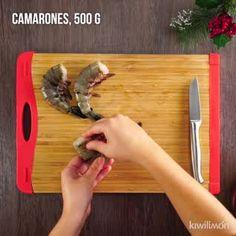 Sautéed Shrimp with Long Chilies – Shellfish Recipes Coconut Shrimp Recipes, Fish Recipes, Seafood Recipes, Mexican Food Recipes, Soup Recipes, Cooking Recipes, Healthy Recipes, English Food, Fish And Seafood