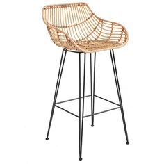 Found it at Temple & Webster - Rattan & Iron Low Back Barstool https://www.templeandwebster.com.au/daily-sales/p/Rattan-Living-Rattan-%26-Iron-Low-Back-Barstool~ONEW1006~E10277.html?refid=SBP