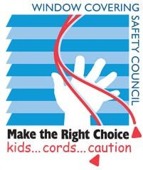 Window Covering Safety Council and Bali Blinds recommend cordless shades if you have small children.