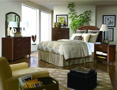 Homelegance 2111-1 Beaumont Collection Color Medium Brown Cherry