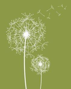 Dandelions! I want Dandelions! on Pinterest