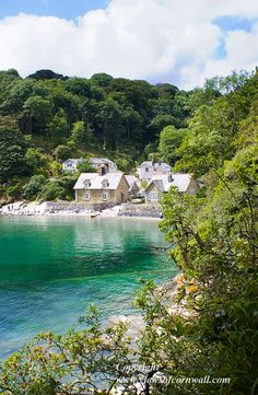 Durgan Beach, Cornwall, UK