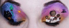 Aladdin eye makeup