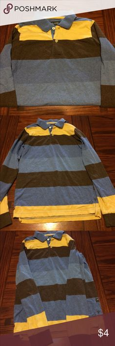 Boy's E-Land Shirt Size 12 This is a pre-owned shirt. It is a size 12 and was worn often. E-Land Kids Shirts & Tops