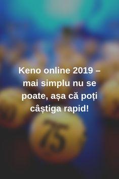 Keno online 2019 – mai simplu nu se poate, așa că poți câștiga rapid! #Romania #casino #keno #jocuri #jocuricalaaparate #jocuri Mai, News, Blog, Blogging