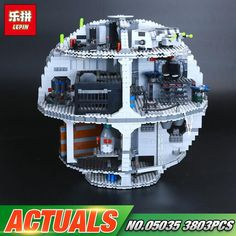 Star Wars Series UCS Death Star 3804pcs (Lego Model: 10188)