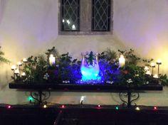 Christmas 2014 St Margaret's church Abdon.