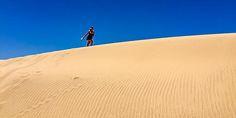 #Spaziergang in der #Wüste von #Marokko bei #Taghazout © Katharina Suchodolska