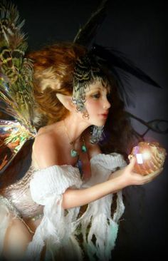 DEB WOOD - A fairy
