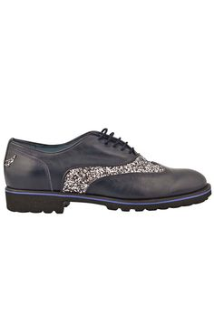 MOO - Oxford Glitters Navy Glitters, Oxford, Navy, Accessories, Shoes, Zapatos, Shoes Outlet, Shoe, Oxfords