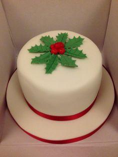 2014 Christmas Cake Xmas Cakes, Christmas Cakes, Christmas Sweets, Holiday Cakes, Christmas 2014, Christmas Cake Designs, Cupcake Cakes, Cupcakes, Christmas Foods