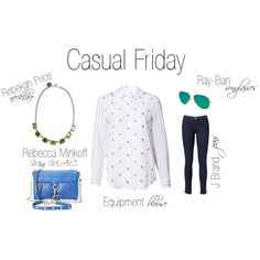 """Casual Friday"" by shopeluxe on Polyvore"