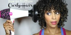 Video: How to Diffuse Curly Hair | Melting Pot Beauty