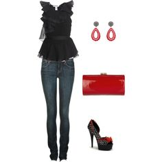 MY FIRST POLYVORE OUTFIT!!   :)