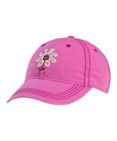 2d6ff50b421 Life is Good® Hot Fuchsia Flower Ripstop Chill Baseball Cap - Women