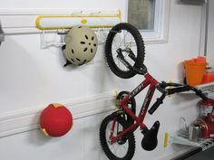 Bike / Scooter / Skateboard / Helmet Rack | Storage Ideas | Pinterest |  Skateboard Helmet, Garage Ideas And Organizing