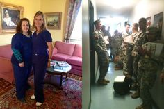 Our dental assistants, Amanda and Michelle, volunteered to work over the weekend at the Military Base in Vermillion Parish, LA, as x-ray technicians. They took x-rays of 475 soldiers and also assisted several dentists with dental exams and treatment. Their time and hard work just shows us how dedicated and hard working they are to our community.    They both were so pumped up and excited when they got back to work on Monday morning!!