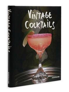 Give this to your go-to happy hour gal. Vintage Cocktails, $50…