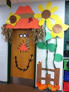 Fall door for 2nd grade. I think I did pretty good!