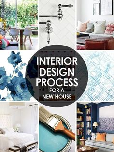 Here's my step by step interior design plan for moving into our new house.