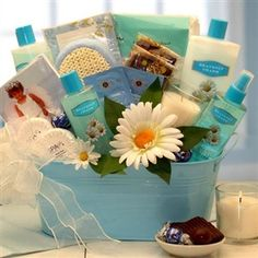 Heavenly Charm Relaxation Spa Gift Set | Spa Gift Baskets | Arttowngifts.com