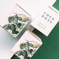 Herbivore Botanicals: A natural beauty brand launched from a Seattle kitchen Skincare Packaging, Tea Packaging, Print Packaging, Beauty Packaging, Cosmetic Packaging, Luxury Packaging, Packaging Design Box, Packaging Ideas, Design Poster