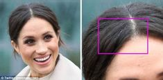 Gray hairs:Marie Claire prompted outrage online after publishing an article about Meghan Markle having a single strand of gray hair based off this image of her in Ireland on March 23