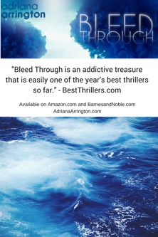 Bleed Through - Psychological Thriller, Novel set in Florida