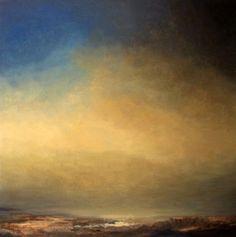 """SALT LAKE"" oil painting on canvas 80x80cm, 2015 by Natasha Marson"