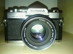 Konica autoreflex A3 camera Vintage 1970 50mm F1.7
