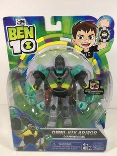Omni - Kix Armor Diamondhead Ben 10 Figure + Hero Code CN Playmates Toys New 43377761457 Paw Patrol Gifts, Paw Patrol Toys, 6th Birthday Parties, 4th Birthday, Ben 10 Action Figures, Transformers Robots, Sideshow Collectibles, Hulk, Christian