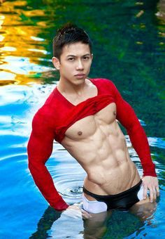 Asian Male Muscle Yum yum
