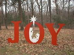 christmas yard art (mom)