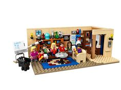 LEGO Ideas The Big Bang Theory 21302 Building Kit Build Leonard and Sheldon's living room for display and role play! Construct the detailed LEGO Ideas version Model Building, Building Toys, Big Bang Theory Set, Arma Nerf, Lego Mini, Modele Lego, The Bigbang Theory, Lego Pictures, Fans