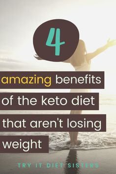 4 keto diet benefits that aren't losing weight. The Ketogenic Diet is amazing! These tips for the keto diet for beginners and keto diet for beginners meal plans are perfect to get started. How keto diet and its benefits changed my life. Check out these keto diet benefits for your low carb diet this summer at home. Improve your health with these facts about the benefits of the keto diet and ketosis. See more at tryitdietsisters.com. Diet Plans To Lose Weight Fast, Lose Weight At Home, Losing Weight, How To Lose Weight Fast, Keto Diet Review, I Hate Running, Keto Diet Benefits, Diet Reviews, Keto Diet For Beginners