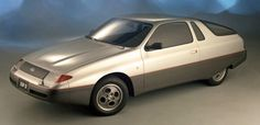 Ford EXP-II Concept, 1982, by Ghia. An aerodynamic design study based on the Ford Escort