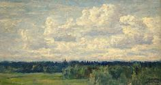 Fedosov N. Simple Subject, Cloud Art, Romantic, Clouds, Artist, Nature, Backgrounds, Painting, Naturaleza