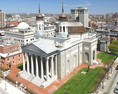 """Baltimore Basilica is """"the oldest cathedral in the U.S.""""."""