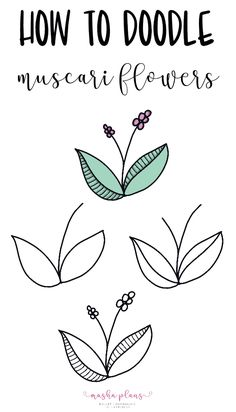 Want to decorate your Bullet Journal with some cute flower doodles? Check these 15 simple step by step tutorials to start drawing today! Easy Flower Drawings, Flower Drawing Tutorials, Easy Doodles Drawings, Simple Doodles, Doodle Pages, Doodle Art Journals, Bullet Journal Books, Bullet Journal Ideas Pages, Floral Doodle