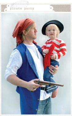 pirate party {family reunion, but still good ideas}.