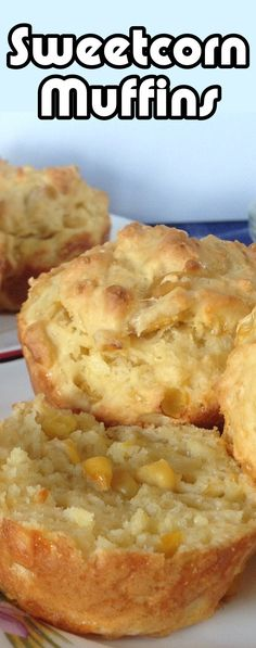 Sweetcorn Muffin Recipe - Old Skool Recipes