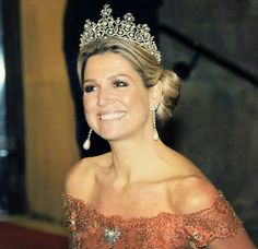 Queen Máxima and  an absolutely  radiant smile