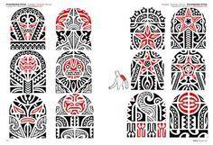 Polynesian Tattoo Flash | Disponibilità: Disponibile