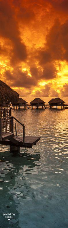 Bora Bora Sunset | LOLO❤