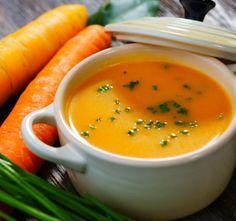 Recept Vynikající mrkvová polévka