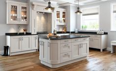 Bowfell Painted Kitchen in White Linen