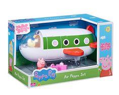 Peppa Pig – L'avion de Peppa – Véhicule + 1 Mini Figurine 5 cm: Ce jouet est inspiré des dessins animés Peppa Pig. Ce coffret comprend…