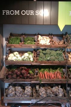 veg display