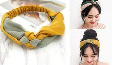 Turban Headbands, Dress Sewing Patterns, Diy Hairstyles, Simple Dresses, Hair Pieces, Hair Band, Hair Beauty, Knitting, Lady