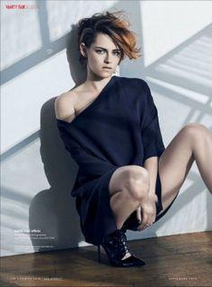 Kristen Stewart NOVO Photoshoot para Vanity Fair Magazine 2014 França